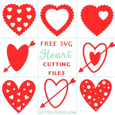 Hearts   free svg image in public domain. SVG Sunday. Heart Collection.