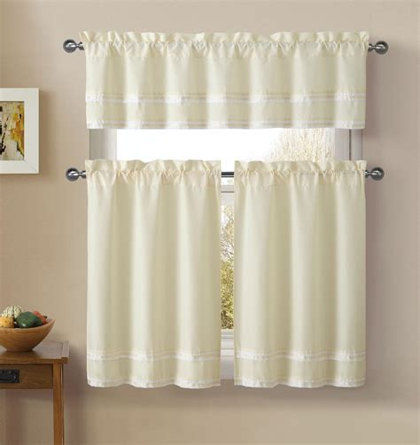 Kmart Kitchen Curtains Valances by Upc 735732969577 Essential Home Window Panels Valance