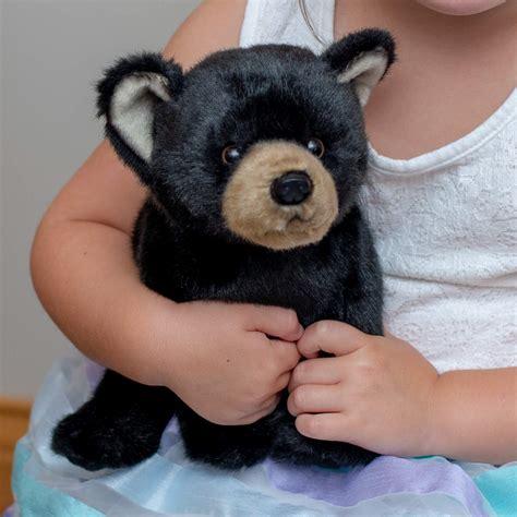 nat  jules crawling small black bear childrens plush