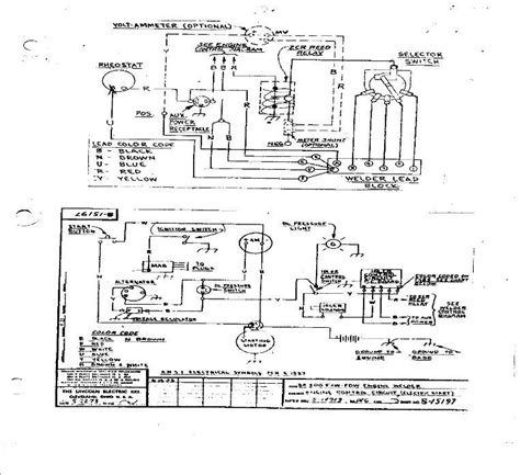 Wiring Diagram For Lincoln Sa 200 Welding Machine by Lincoln Sa200 Wiring Diagrams Original Sa 200 W Auto