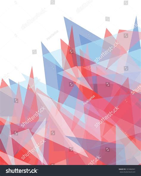 Abstract Geometric Shapes Transparent Background by Abstract Background Blue Geometric Shapes Stock Vector