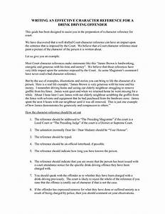character reference letter template for court uk - character reference for court template drink driving