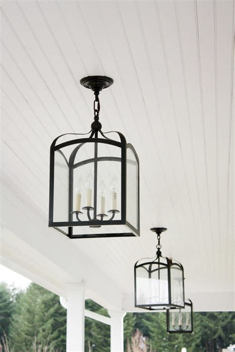 farmhouse light fixtures bhg style spotters