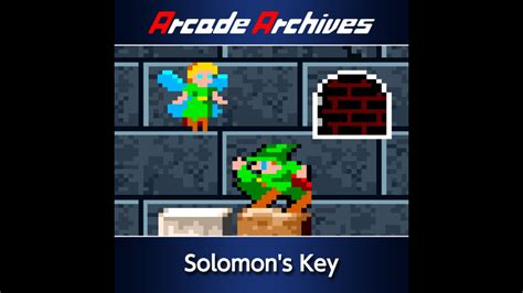 Arcade Archives Solomons Key Game Ps4 Playstation