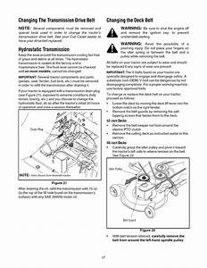 Page 27 Of Cub Cadet Lawn Mower Lt1045 User Guide