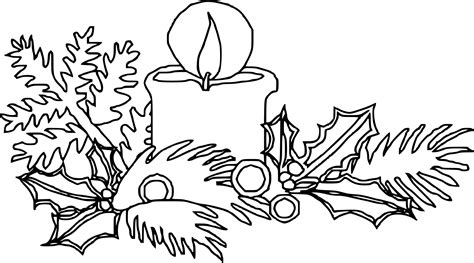 coloriage bougie de noel dessin 224 imprimer sur coloriages