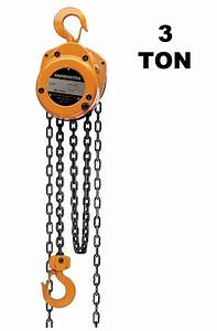 Harrington Manual Hand Chain Hoist Cf Series 3 Ton 10 Ft