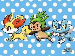 Pokemon Art Academy: Fennekin, Chespin and Froakie by ...