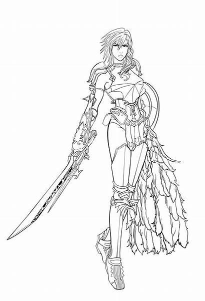 Anime Line Lightning Gem Deviantart Farron Character