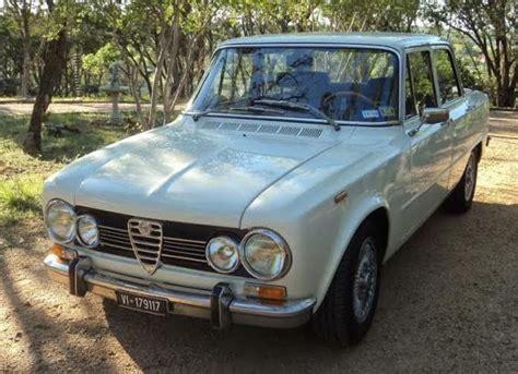 1975 Alfa Romeo Giulia Super