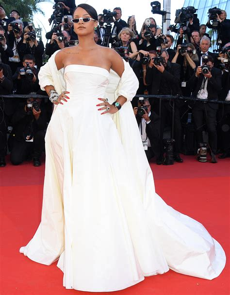 Rihanna And Bella In Dior On The Okja Cannes Red Carpet