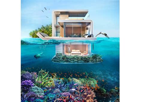 le floating seahorse la maison sous l eau du groupe kleindienst archibat rh mag