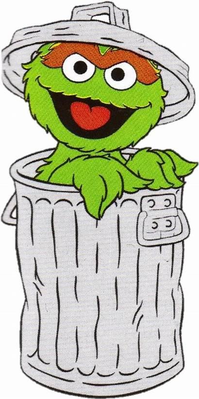 Oscar Grouch Transparent Clipart Sesame Street Background