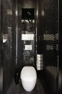 douche mosaique noire With salle de bain mosaique noir