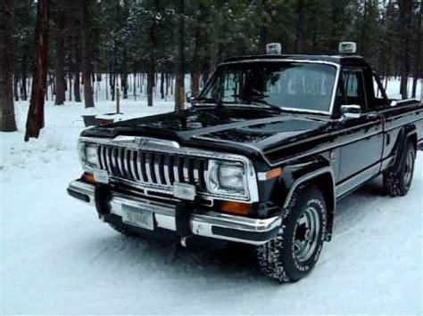 jeep honcho custom 1983 jeep j 10 laredo youtube