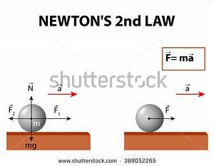 Newtons Second Law Motion About Relationship Stock ...