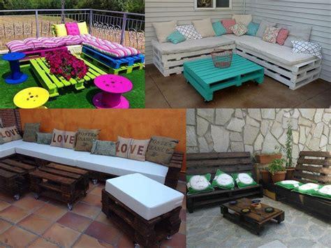 ideas  la decoracion de jardines  palets
