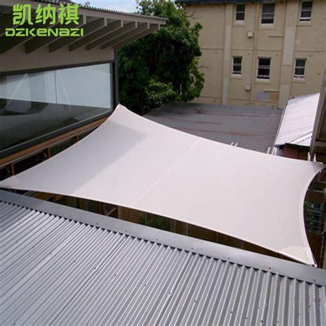 l shade fabric material 4 x 5 m pcs outdoor waterproof sun shade sail combination