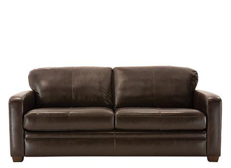 leather sleeper sofa queen trent leather queen sleeper sofa dark chocolate