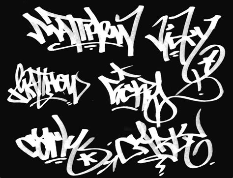 Graffiti Tag : How To Make Unique Design Your Name In Graffiti Font