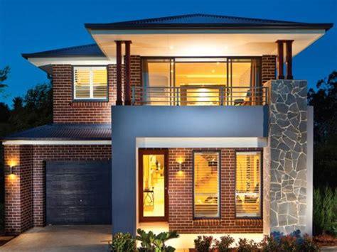 Modern Minimalist 2 Floor House Designs  4 Home Ideas
