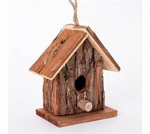 Cabane a oiseaux nichoir en bois wedestock 1173 for Superb maison bois et paille 8 nichoir cabane en bois et paille paniers et accessoires