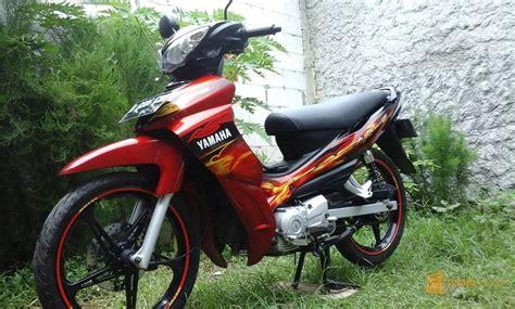 Jupiter Z Modifikasi Warna Merah by Modifikasi Motor Jupiter Z 2009 Impremedia Net