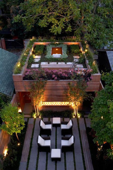 exemple de rooftop terrasse lounge deco amenagement de