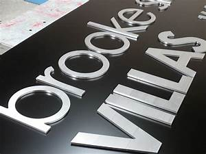 acrylic letters With router cut letters