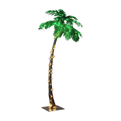 led lighted palm trees lightshare lighted palm tree large
