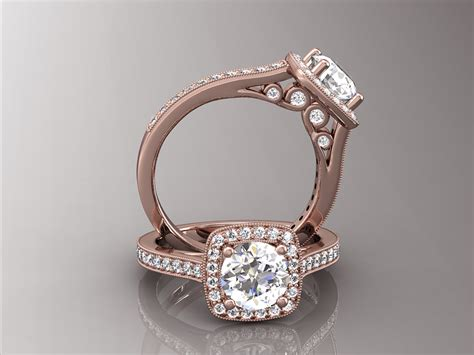engagement rings with gold bands vintage gold engagement rings hd vintage engagement rings vintage gold