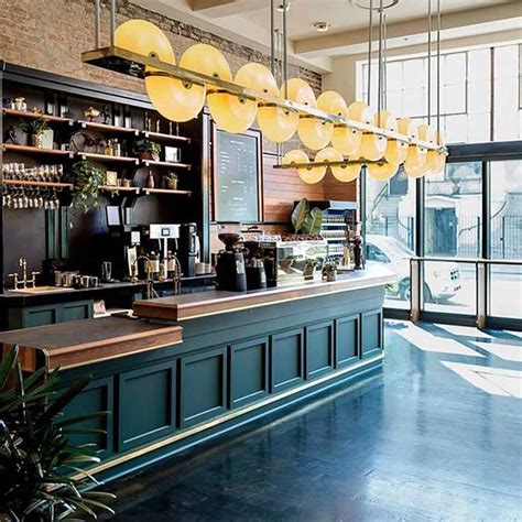 Turnkey wholesale services including bulk coffee, cold brew coffee, training, equipment, and more! Buy Contemporary Coffee Shop Counter in Green with Laminate Top and Display Shelf Online ...