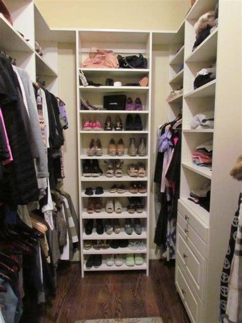 Narrow Walk In Closet Organization Ideas by Narrow Walk In Closet Search Closets Closet