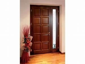 bien proteger vos portes d39entree en bois massif sos With porte d entrée bois massif