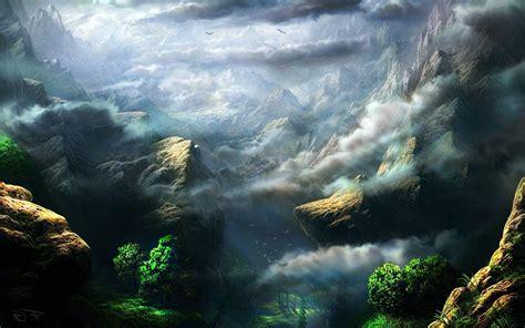 hd fantasy nature wallpaper