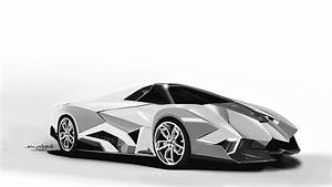 Lamborghini Speed Painting Egoista Supercar - YouTube