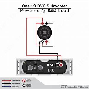 Parallel Single Subwoofer Wiring Diagram