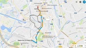 Image Google Map : opgelet met google maps in gent gent het nieuwsblad ~ Medecine-chirurgie-esthetiques.com Avis de Voitures
