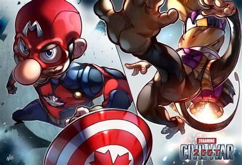 Marvel With Nintendo Characters Smash Amino
