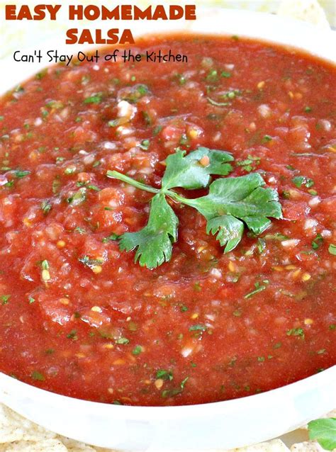 Find more salsa recipes at bbc good food. Easy Homemade Salsa   Recipe in 2020   Easy homemade salsa, Homemade salsa, Fresh salsa recipe