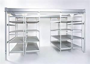 Italmodular, Commercial, Metal, Shelves, Solutions