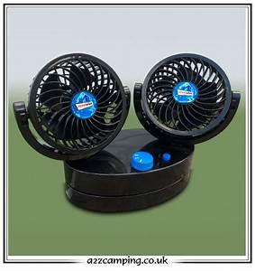 12 Volt Ventilator : oscillating 12v car caravan motorhome fan ~ Jslefanu.com Haus und Dekorationen