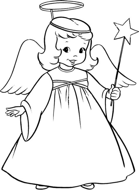 Free Guardian Angel Coloring Pages, Download Free Clip Art