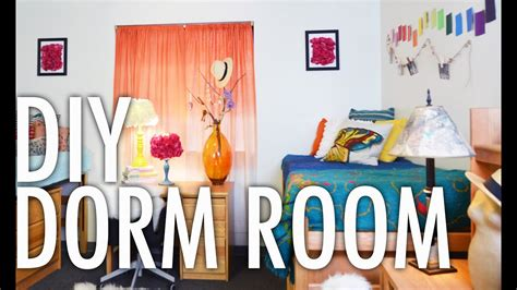 diy dorm room design challenge   kate youtube