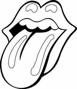 Rolling Stone Mouth | Contour by natmiki on DeviantArt