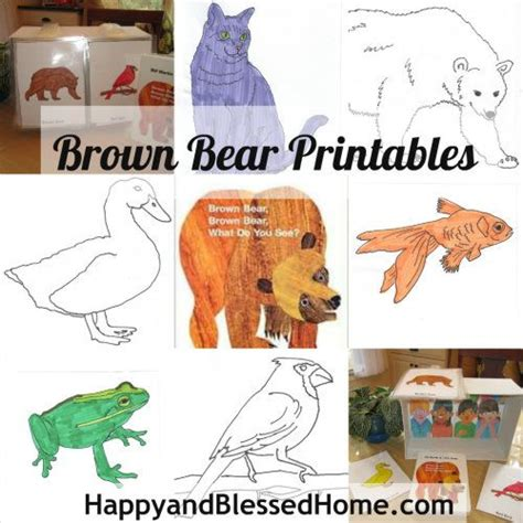 free brown what do you see printables preschool 623 | 0af5bb4c41676f52224e0cdc44c3ee31