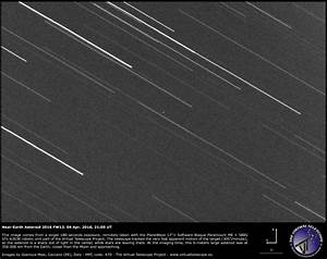 Asteroid swept within moon's distance April 5 | Science ...