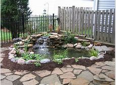 Beautiful Small Pond Design To Complete Your Home Garden