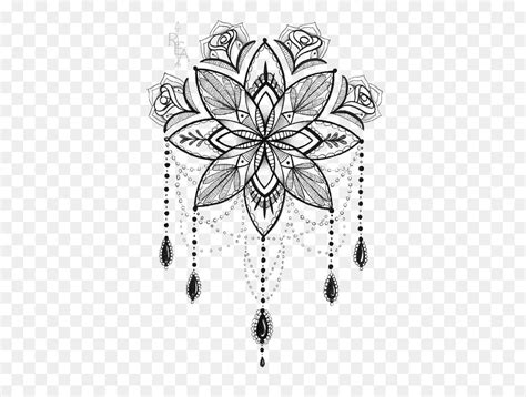 tattoo artist mandala drawing lotus print