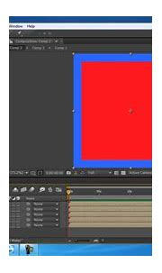 after effects tutorial - how to create 3d cube in after ...